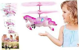 Innoo Tech Flying Unicorn Drone Toys Gifts for Girls Age 6 7