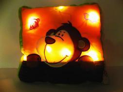 "Interactive Pillow Pets Glow 16"" Colorful Soft Decorative LE"