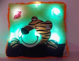 """Interactive Pillow Pets Glow 16"""" Glowing Decorative LED Ligh"""