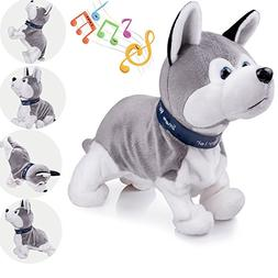 Interactive Puppy Plush Animated Pet Electronic Dog Cute Rob