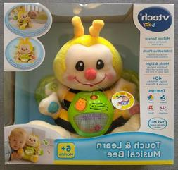 VTech Interactive Touch and Learn Musical Bee Yellow