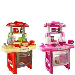 Interesting Kitchen Set For Children's Home Cooking Tablewar