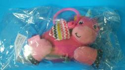 Infantino Jinglin' Gem Jittery Pal Unicorn car seat toy stro