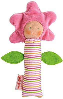 Kathe Kruse - In The Garden - Flower Squeaky Toy