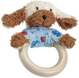 Kathe Kruse - On Tour - Wooden Dog Grabbing Toy