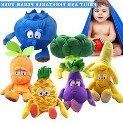 Kid Soft Plush Toys Vegetable Fruit Plants Stuffed Baby Pill