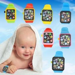 Kids Baby Multifunction Smart Watch Infant Toddler Sound Sto