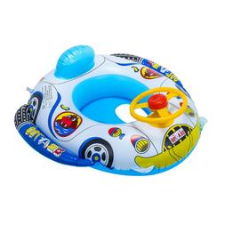 Kids Baby Seat Swimming Swim Ring Pool Aid Trainer Beach Flo