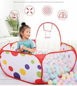 Kids Ball Pit Playpen Zipper Storage Bag Indoor Baby Playpen
