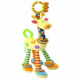 Kids Handbells Rattles Toy Baby Soft Plush Developmental Inf