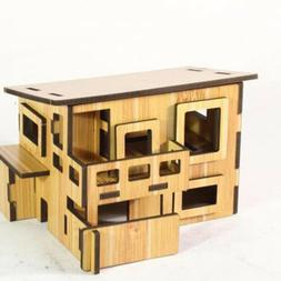Kids Toys House Model Wooden Furniture Toys Gifts Miniature