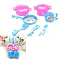 Kitchen Tableware Doll Accessories For  Dolls Girls Baby Pla