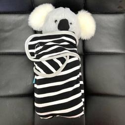 "Manhattan Toy Baby Koala Plush Toy with Swaddle Blanket, 11"""