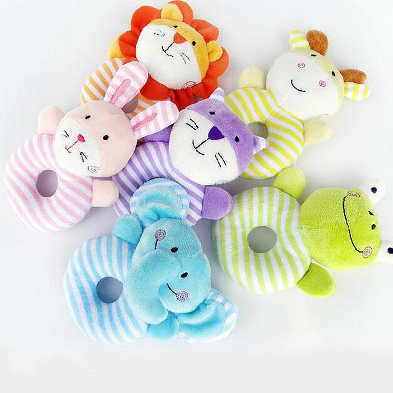 0-1 Baby Rattle Gift Infant Toy Educational Bell Toys