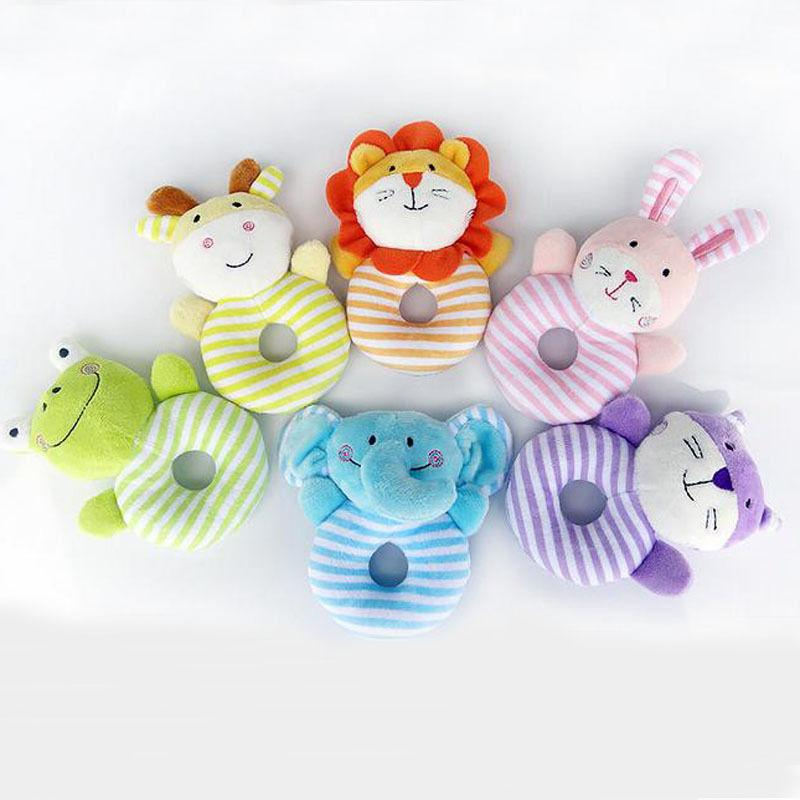 0-1 Years Baby Gift Kids Toy Doll Educational Bell Toys