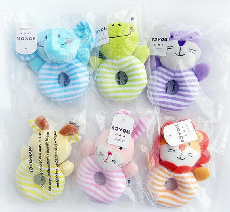0-1 Years Baby Rattle Gift Toy Educational Bell Toys