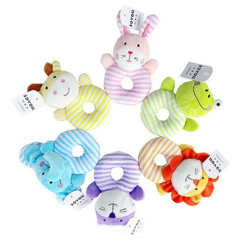 0-1 Years Rattle Gift Plush Bell