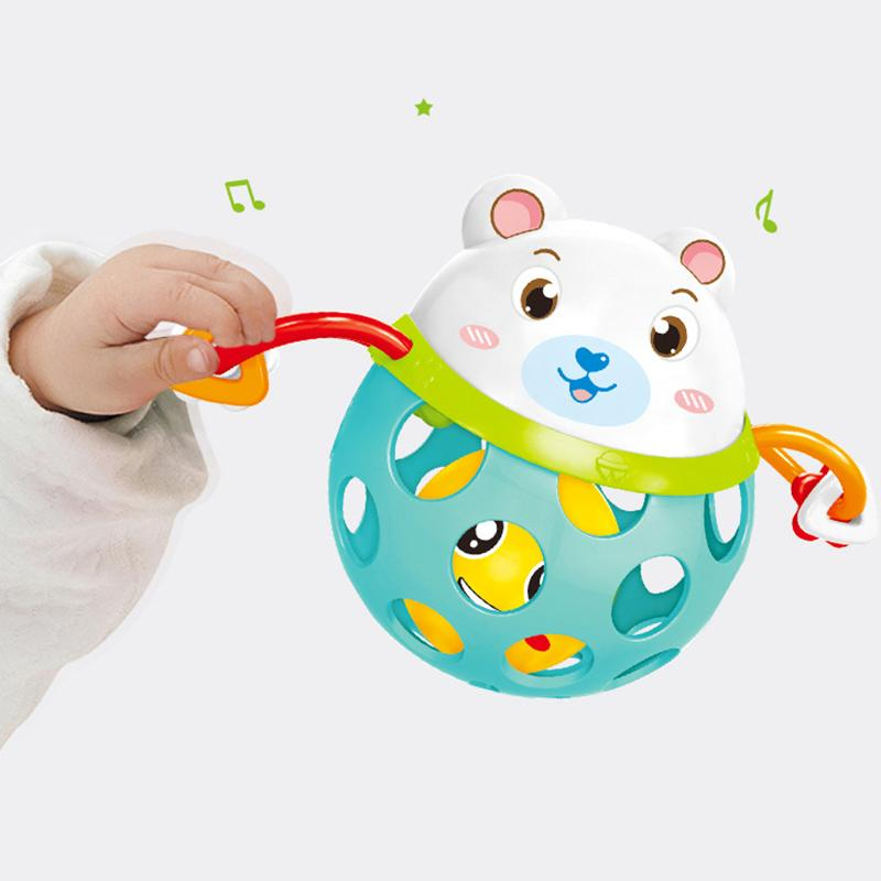 0-12 <font><b>toy</b></font> Intelligence Grasping Plastic Animal Music Shake <font><b>Toy</b></font> Gift