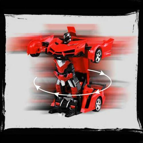 1:18 Robot Car 2 IN Kids Toys Xmas Gift