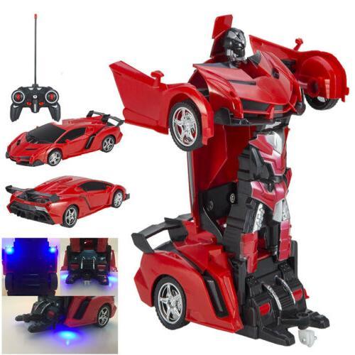1:18 Transformer RC Car Remote 2 IN Toys Xmas USA