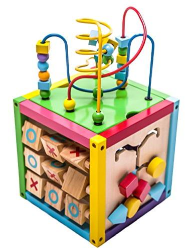 1 play cube activity center