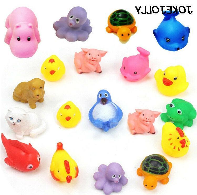 10 bath toys swim
