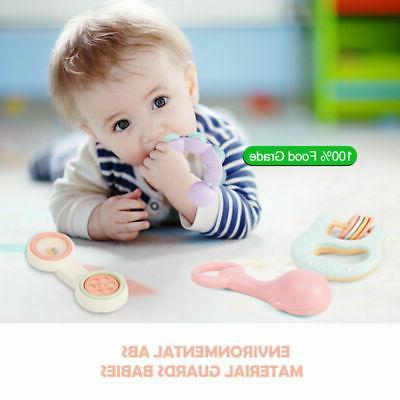 Baby Toys Rattle Set BPA Toys