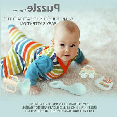 Baby Rattles Toys Infant Rattle Set Toys