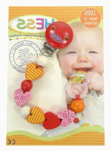 13671 wooden mia pacifier holder
