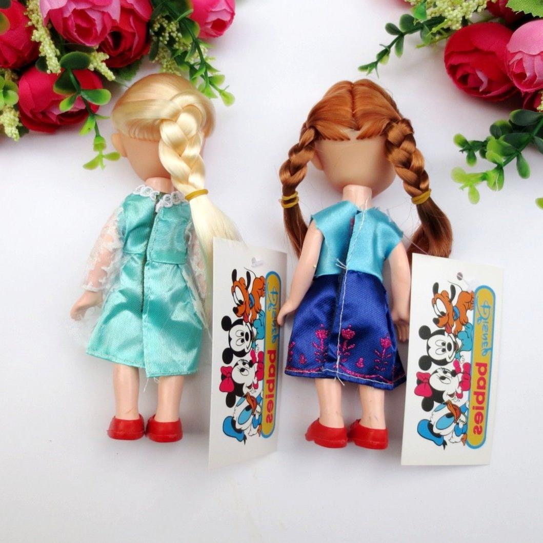 16 cm Children Baby Toddlers Disney Anna Elsa Figures Dolls