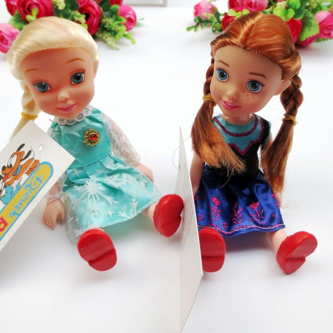 16 Children Baby Toddlers Disney Princess Anna Elsa Dolls Toy