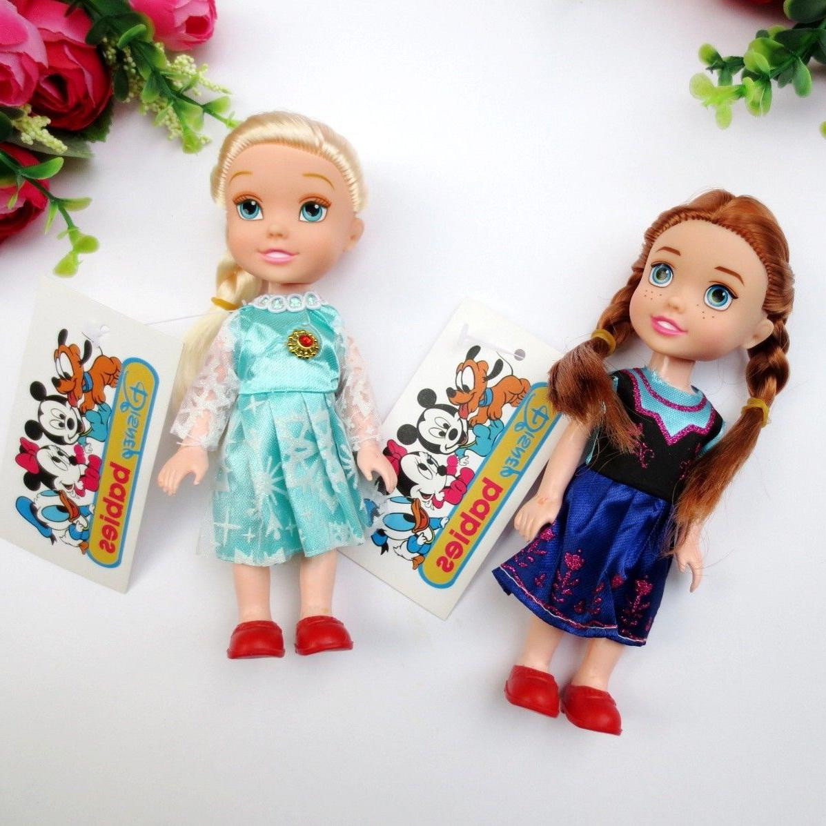 16 cm Children Baby Toddlers Kids Anna & Elsa Dolls Toy
