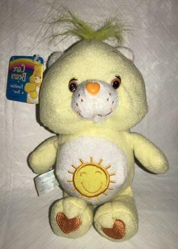 2002 baby funshine bear 8 yellow plush