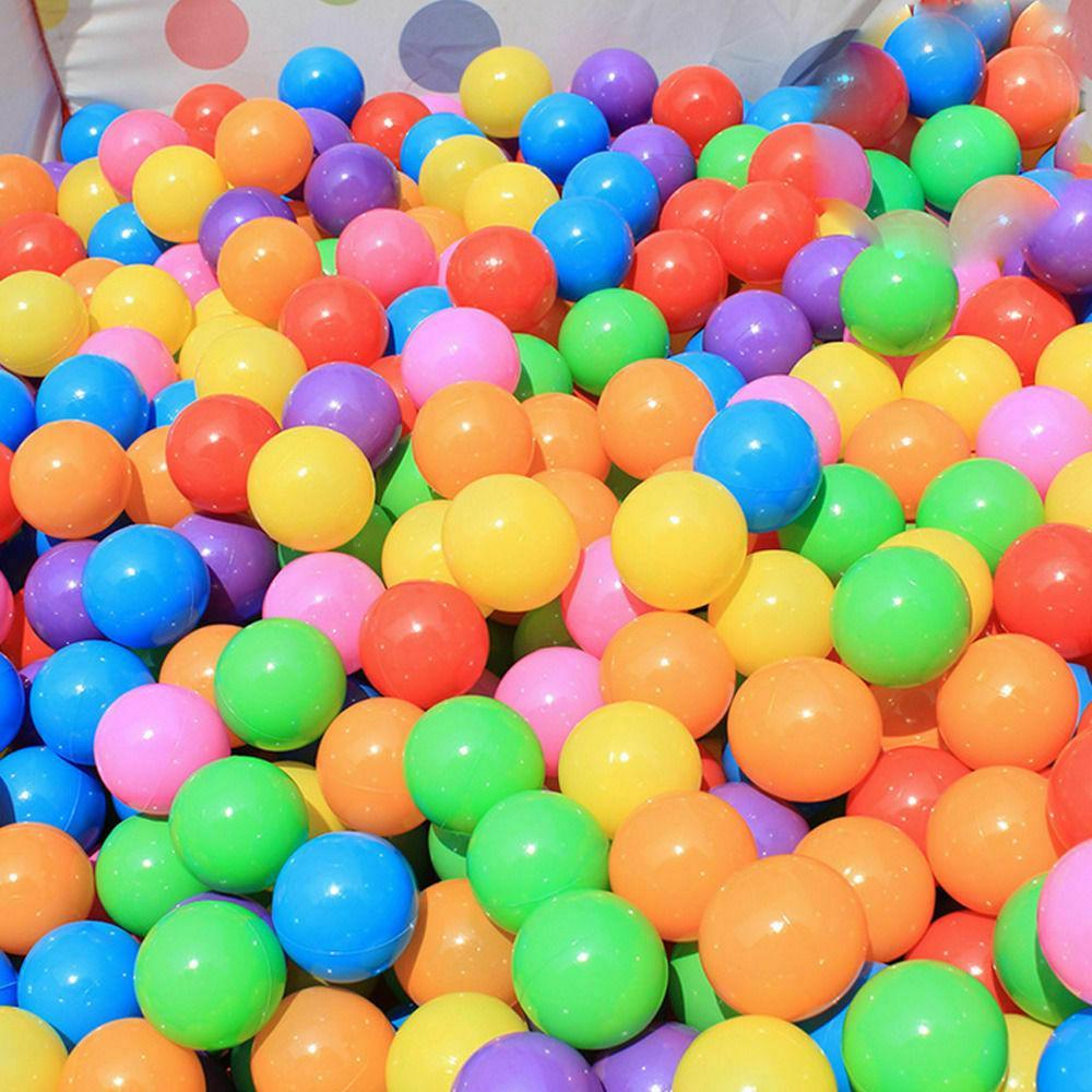 200pcs 5.5cm Fun Plastic Pit Toys Baby Kids Toys Colorful