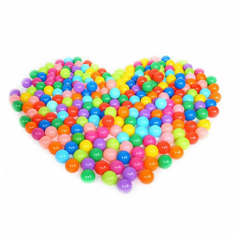 200pcs Fun Soft Plastic Ball Pit Toys Colorful