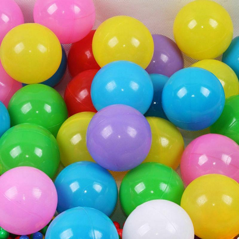 200pcs 5.5cm Fun Plastic Ocean Ball Pit Toys Baby Kids Toys