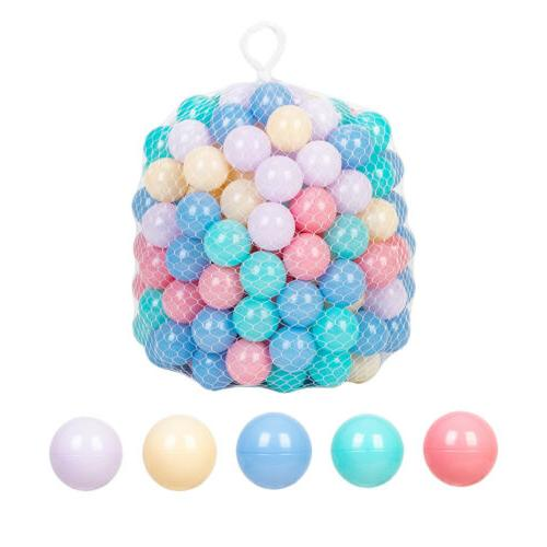 200x Ball Kids Plastic Soft Toy Playpen