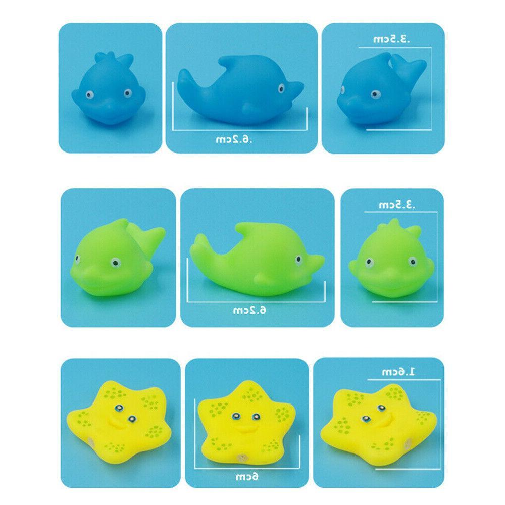 20X Bath Toys Float Spray Toys w/ Net