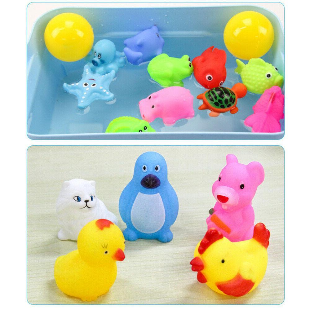 20X Baby Float Toys Rubber w/ Spoon Net