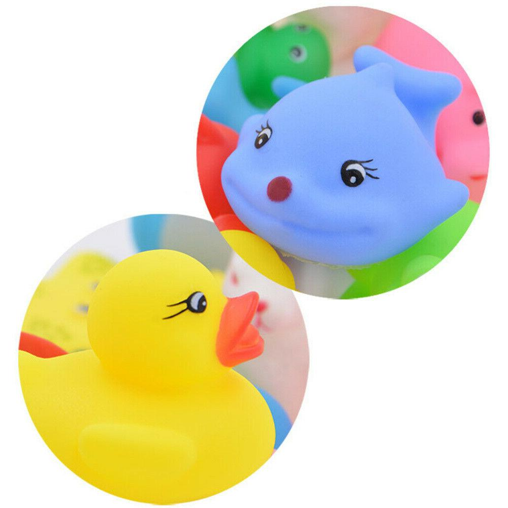 20pcs Baby toddlers Rubber Fun Animals Squeeze Bathtub Toys