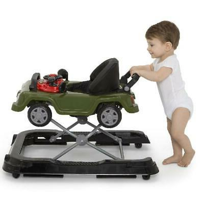 3 In Activity Center Baby Walker Toy Car Boys Jeep Wrangler Classic