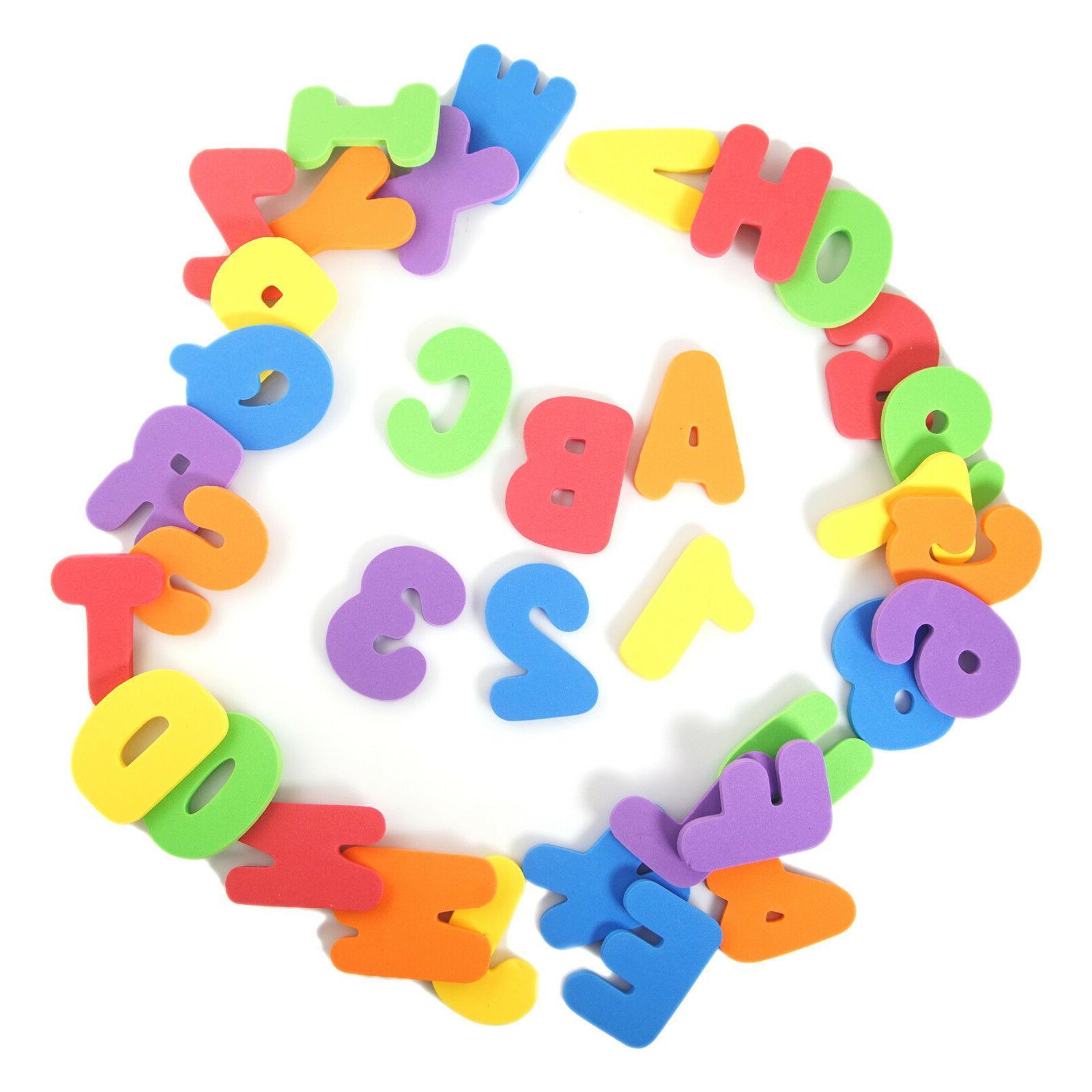 36pcs Alphabet Bath Toys - USA Shipping