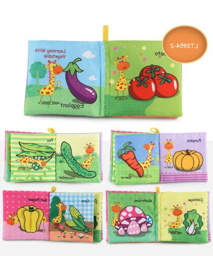 4 Style Unisex Baby Cloth Books Rustle CMXAN