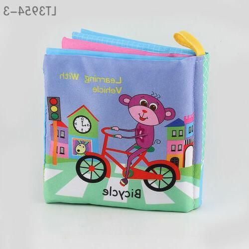4 Style Baby Rattles Soft Cloth CMXAN