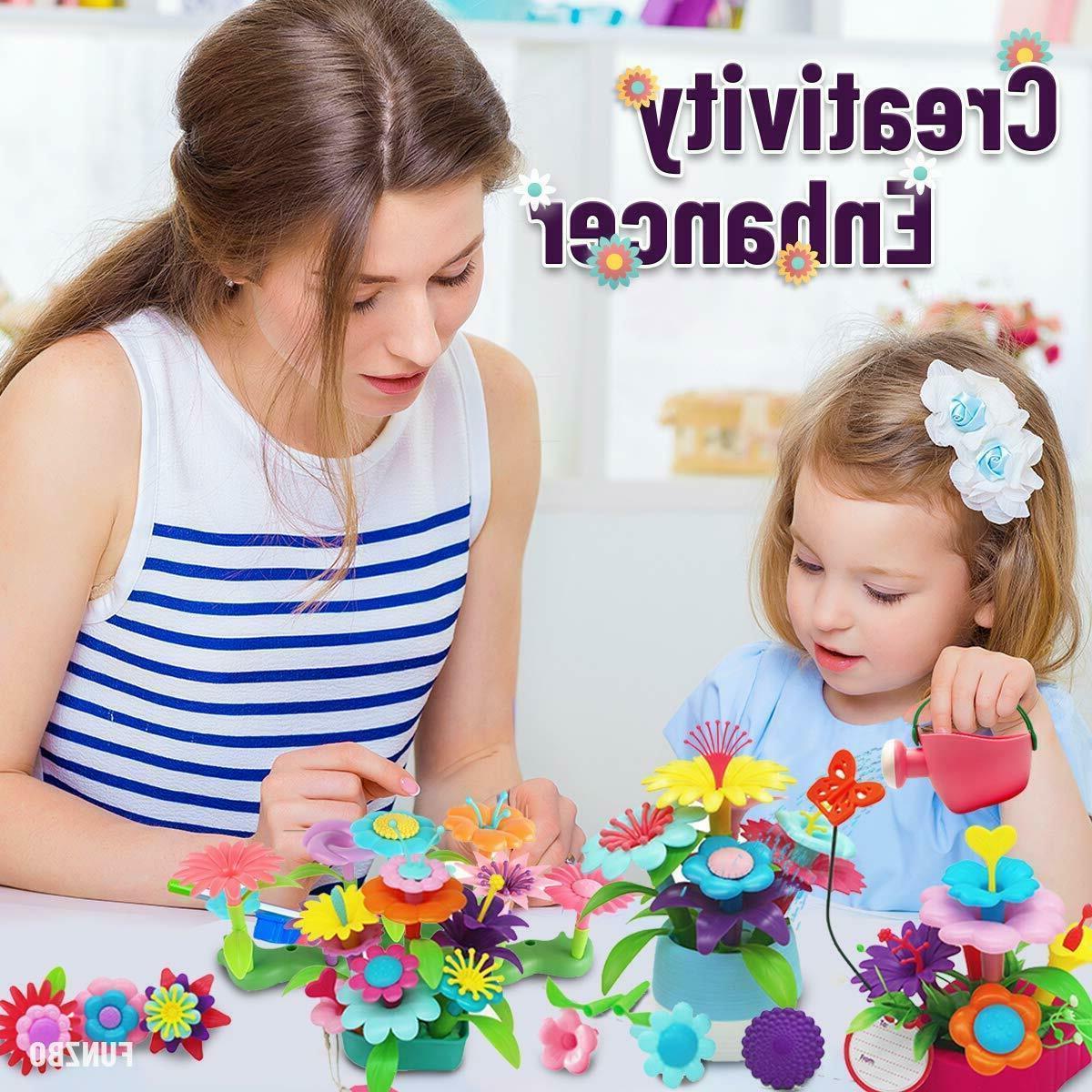99 PCS Flower Garden Gift Educational Activity