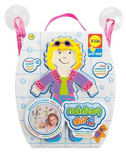 ALEX Toys Rub a Dub for Tub Fashion