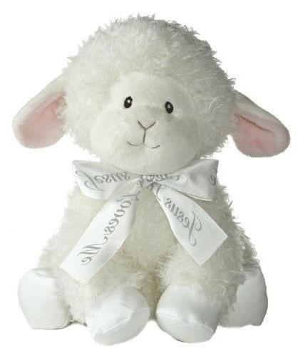 Aurora Baby Blessings Wind Up Musical Plush, Lamb