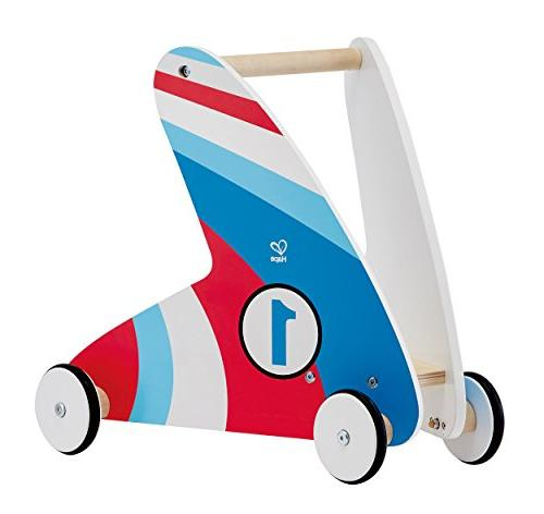 Award Winning Hape Racing Stripes Wooden Push and Pull Walke