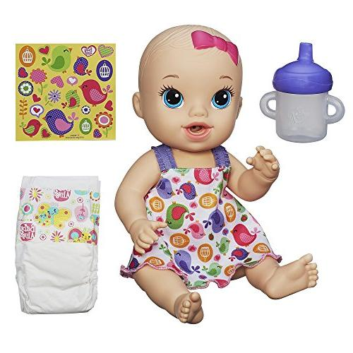 Baby Alive Sips 'n Cuddles Doll baby birdy dress