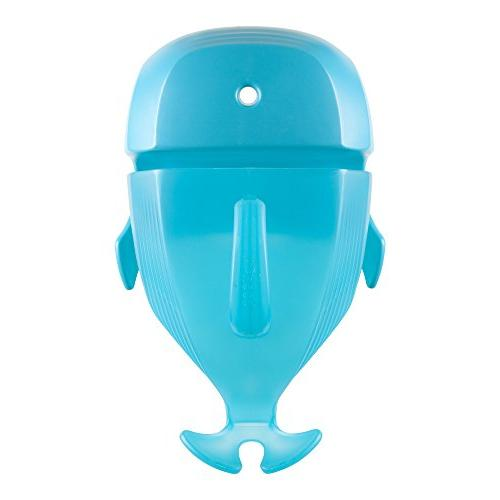 Boon Whale Pod Drain and Storage Bath Toy Scoop,Blue